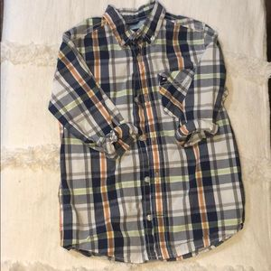 Kid's Tommy button down shirt